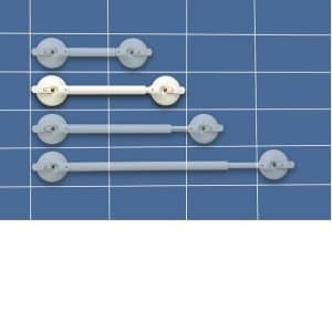 Barre d'appui ventouse téléscopique 665-790 mm