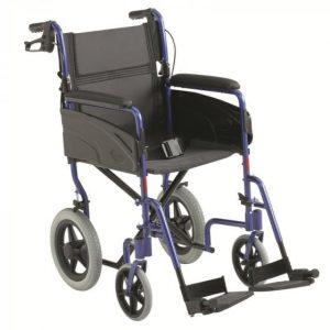 """Chaise roulante """"Alu Lite"""" - 46 cm"""