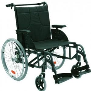 """Fauteuil roulant """"Action 4 NG"""" - Invacare"""