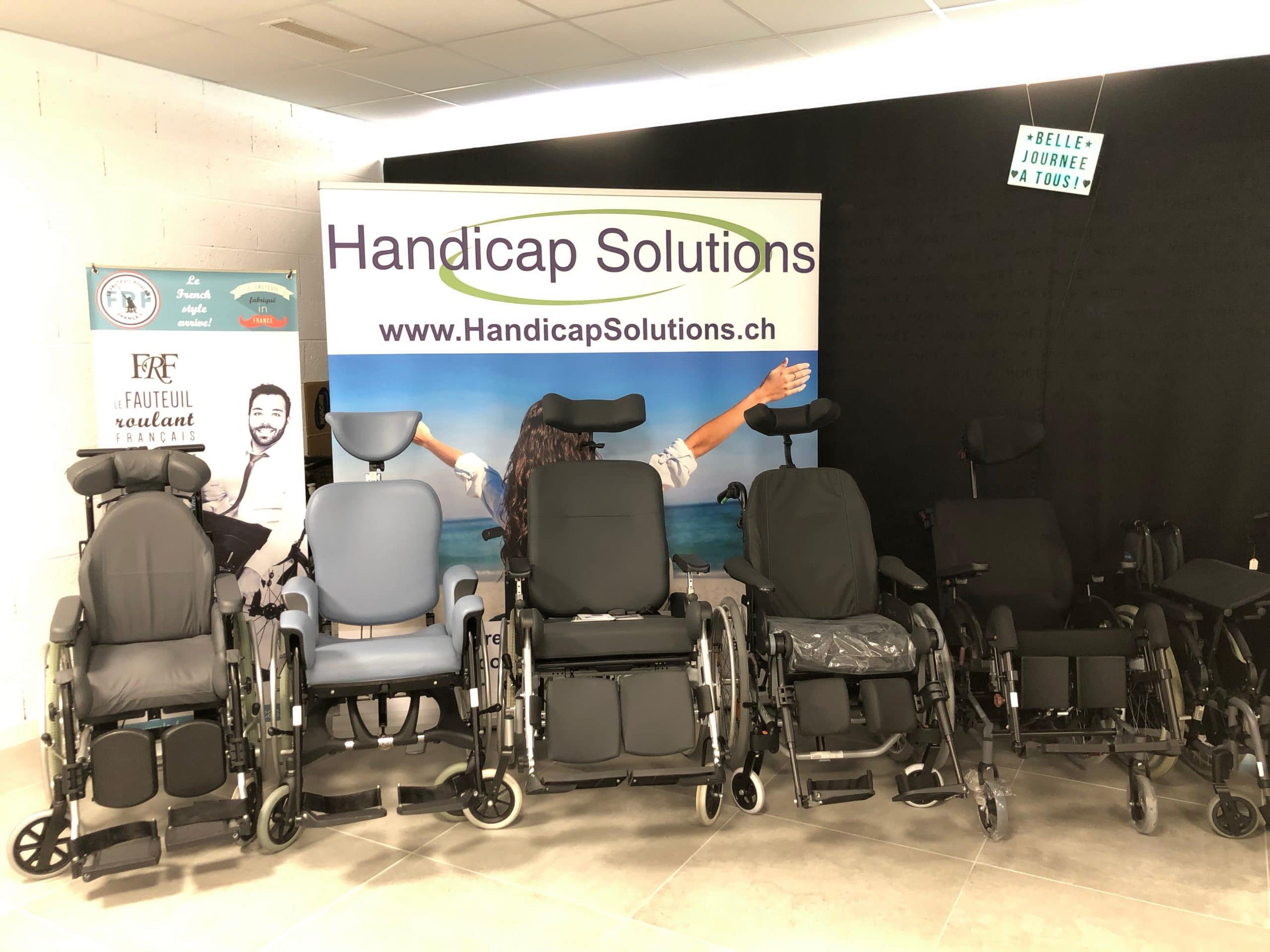 SHOWROOM HANDICAP SOLUTIONS MONTHEY SUISSE