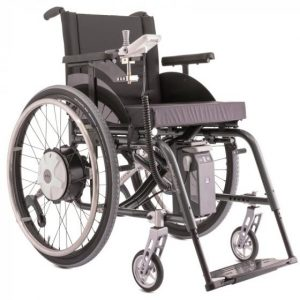 """Motorisation pour fauteuil roulant """"Alber E-Fix E35"""" - Complet"""